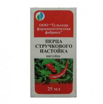 ПЕРЕЦ СТРУЧКОВЫЙ НАСТОЙКА 25МЛ ТУФ в Томске