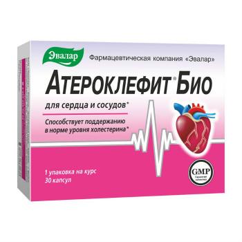 АТЕРОКЛЕФИТ БИО КАПС. №30 БАД в Чебоксарах