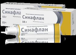 СИНАФЛАН МАЗЬ 0,025% 15Г ОЗН в Екатеринбурге