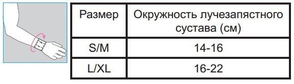 БАНДАЖ ЛУЧЕЗАПЯСТНЫЙ ОРЛЕТТ КУЛМАКС MWR-102 L CОГРЕВАЮЩИЙ в Ярославле