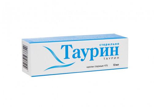 ТАУРИН КАПЛИ ГЛ. 4% 10МЛ СЛА в Томске