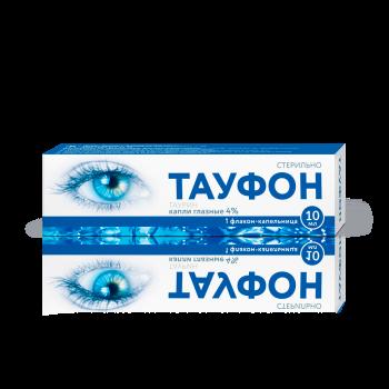 ТАУФОН КАПЛИ ГЛ. 4% 10МЛ (ФЛ-КАП) в Санкт-Петербурге