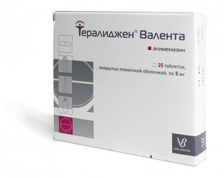ТЕРАЛИДЖЕН ТАБ. 5МГ №25 в Хабаровске