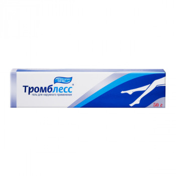 ТРОМБЛЕСС ГЕЛЬ 1000 ЕД/Г 50Г в Туле