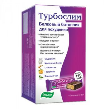 ТУРБОСЛИМ БАТОНЧИК ДИЕТИЧ 50Г №4 в Туле