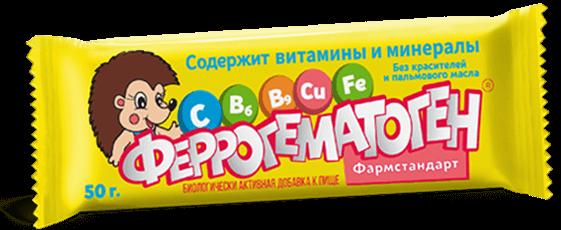 ФЕРРОГЕМАТОГЕН ПАСТИЛКА ЖЕВ. 50Г БАД в Челябинске