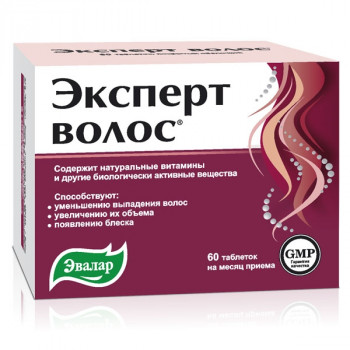 ЭКСПЕРТ ВОЛОС ТАБ. 1Г №60 БАД в Курске