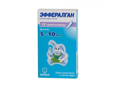 ЭФФЕРАЛГАН СУПП. РЕКТ. 300МГ №12 в Туле