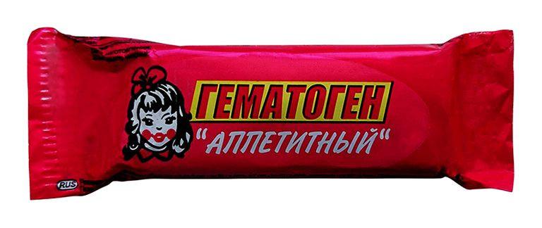 ГЕМАТОГЕН АППЕТИТНЫЙ 40Г БАД в Хабаровске