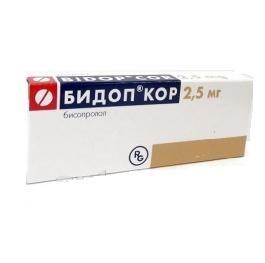 БИДОП КОР ТАБ. 2,5МГ №28 в Ярославле