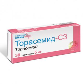 ТОРАСЕМИД-СЗ ТАБ. 5МГ №30 в Екатеринбурге