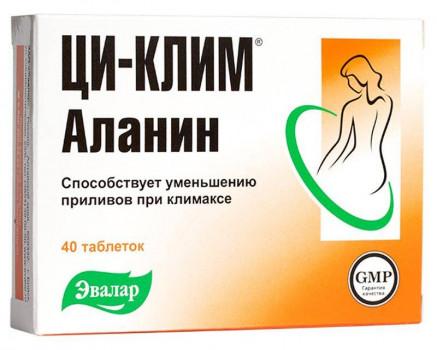 ЦИ-КЛИМ АЛАНИН ТАБ. 400МГ №40 в Санкт-Петербурге