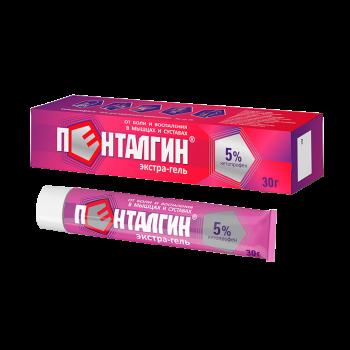 ПЕНТАЛГИН ЭКСТРА ЭКСТРА-ГЕЛЬ 5% 30Г в Чебоксарах