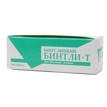 БИНТ ЛИПКИЙ ПРОНИЦАЕМЫЙ БИНТЛИ-Т 10СМХ2М в Томске