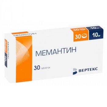 МЕМАНТИН ТАБ. П.П.О. 10МГ №30 ВРТ в Ярославле