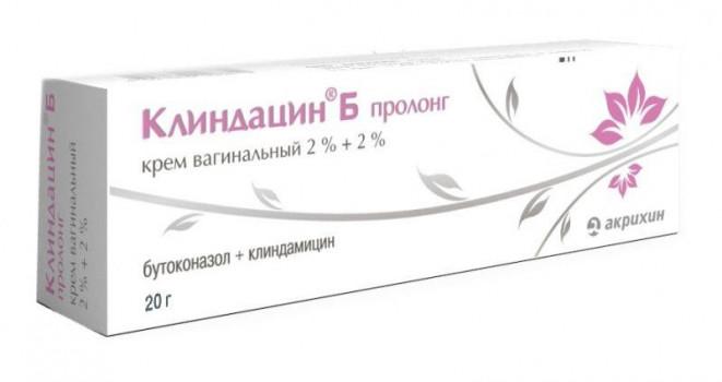 КЛИНДАЦИН Б ПРОЛОНГ КРЕМ ВАГ. 2%+2% 20Г в Чебоксарах