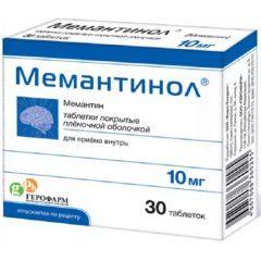 МЕМАНТИНОЛ ТАБ. 10МГ №30 в Туле
