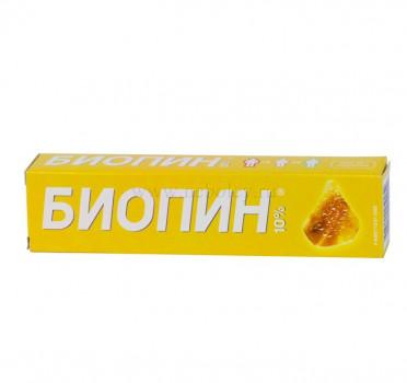 БИОПИН МАЗЬ 10% 40Г в Хабаровске