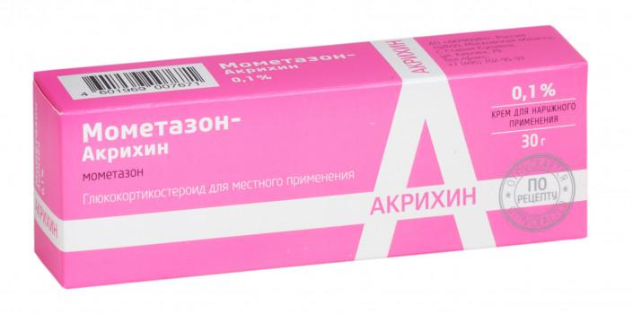 МОМЕТАЗОН МОМЕТАЗОН-АКРИХИН КРЕМ 0,1% 30Г в Екатеринбурге