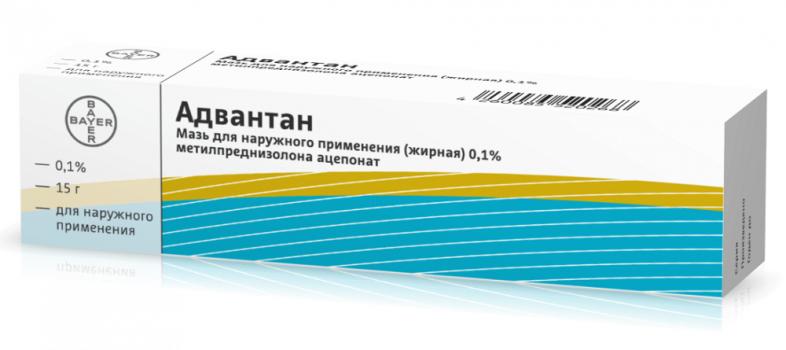 АДВАНТАН МАЗЬ ЖИРНАЯ 0.1% 15Г в Тюмени
