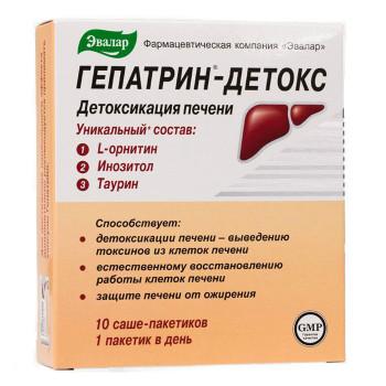 ГЕПАТРИН ГЕПАТРИН-ДЕТОКС ПОР. №10 БАД в Томске