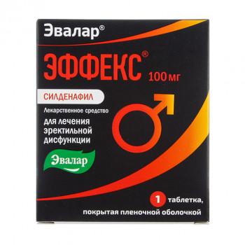 ЭФФЕКС СИЛДЕНАФИЛ ТАБ. 100МГ №1 в Чебоксарах