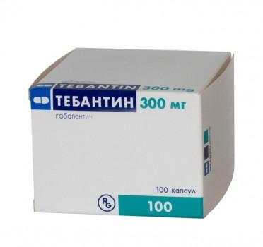 ТЕБАНТИН КАПС. 300МГ №100 в Туле