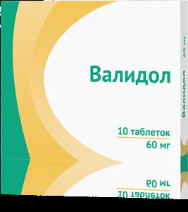 ВАЛИДОЛ ТАБ. 60МГ №10 ОЗН в Чебоксарах