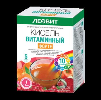 КИСЕЛЬ ЛЕОВИТ ВИТАМИННЫЙ ФОРТЕ 20Г №5 в Саратове