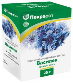 ВАСИЛЬКА СИНЕГО ЦВЕТКИ ФИТОЧАЙ 25Г БАД в Томске