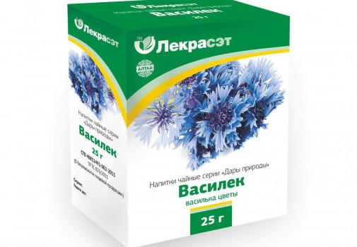 ВАСИЛЬКА ТРАВА СИНЕГО ЦВЕТКИ ФИТОЧАЙ 25Г БАД в Челябинске