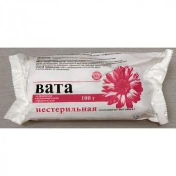 ВАТА ХИРУРГИЧЕСКАЯ Н/СТЕР 100Г РОЗОВЫЙ ФЛАМИНГО в Томске