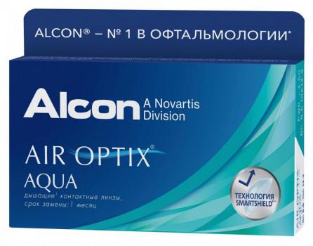 ALCON AIR OPTIX AQUA КОНТАКТНЫЕ ЛИНЗЫ (-6,50 /8.6/14,2) №3 в Санкт-Петербурге