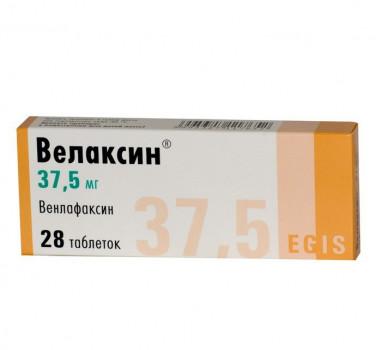 ВЕЛАКСИН ТАБ. 37.5МГ №28 в Томске