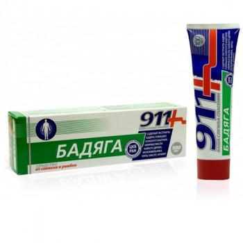 911 БАДЯГА ГЕЛЬ ОТ СИНЯКОВ И УШИБОВ 100МЛ в Екатеринбурге