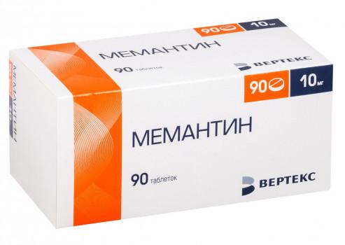 МЕМАНТИН ТАБ. П.П.О. 10МГ №90 ВРТ в Хабаровске