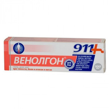 911 ВЕНОЛГОН ГЕЛЬ Д/НОГ 100МЛ в Тюмени