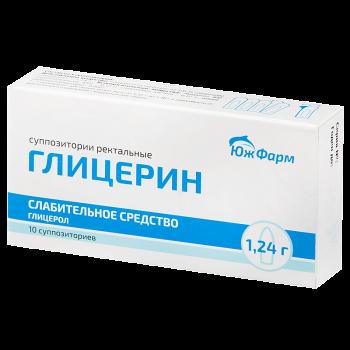 ГЛИЦЕРИН СУПП. РЕКТ. 1,24Г №10 ЮФМ в Чебоксарах