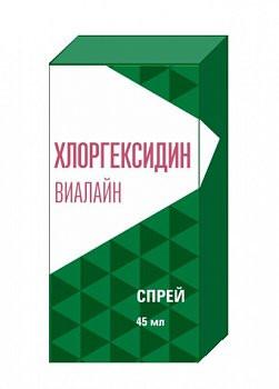 ХЛОРГЕКСИДИН ВИАЛАЙН СПРЕЙ ДЛЯ ПОЛОСТИ РТА 45МЛ в Екатеринбурге