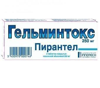 ГЕЛЬМИНТОКС ТАБ. П.П.О. 250МГ №3 в Чебоксарах