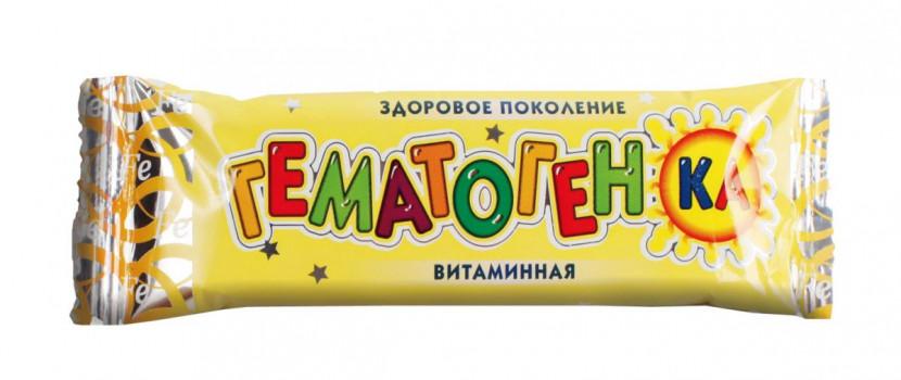 ГЕМАТОГЕНКА ВИТАМИННАЯ 40Г РСЛ БАД в Ярославле