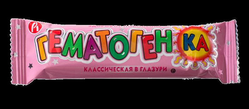 ГЕМАТОГЕНКА КЛАССИЧЕСКАЯ 40Г В ГЛАЗУРИ ГЕК БАД в Томске