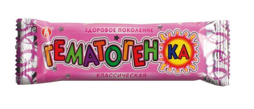ГЕМАТОГЕНКА КЛАССИЧЕСКАЯ 40Г РСЛ БАД в Хабаровске