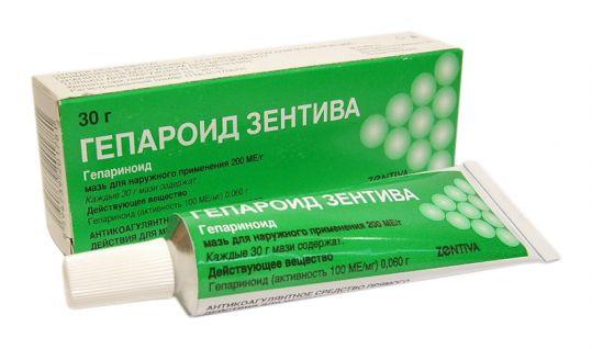 ГЕПАРОИД ЗЕНТИВА МАЗЬ 200 МЕ/Г 30Г в Томске
