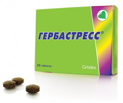 ГЕРБАСТРЕСС ТАБ. 450МГ №10 БАД в Томске