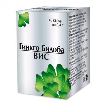 ГИНКГО БИЛОБА БИЛОБА-ВИС КАПС. 400МГ №40 БАД в Туле