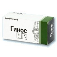 ГИНОС ТАБ. П.О 40МГ №30 в Челябинске