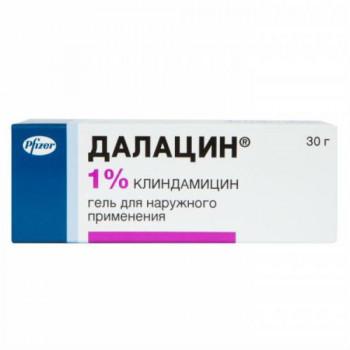 ДАЛАЦИН ГЕЛЬ 1% 30Г в Екатеринбурге
