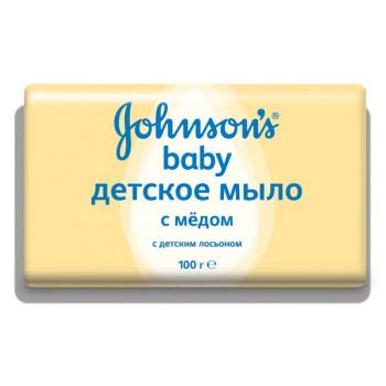 ДЖОНСОНС БЕБИ МЫЛО МЕД 100Г в Томске
