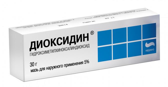 ДИОКСИДИН МАЗЬ 5% 30Г НИЖ в Чебоксарах